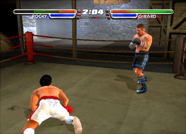 Rocky: Legends - PS2 Screen