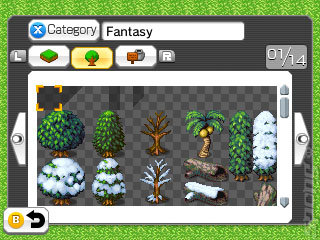 RPG Maker Fes - 3DS/2DS Screen