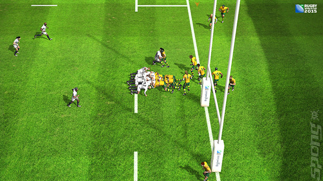 Rugby World Cup 2015 - PSVita Screen