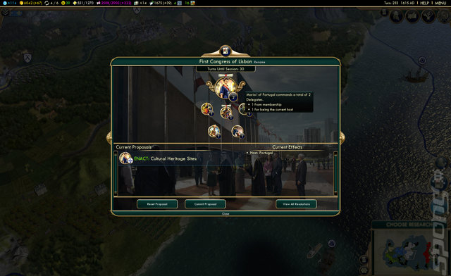 Sid Meier's Civilization V: Brave New World - PC Screen