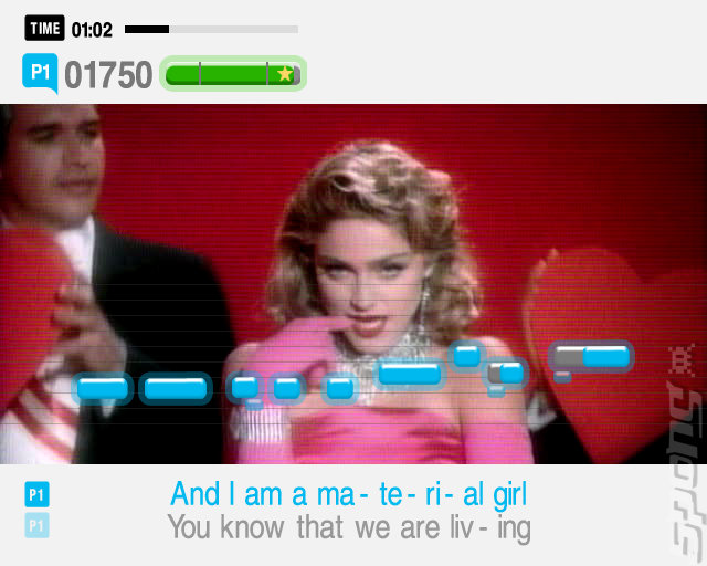 SingStar '80s - PS2 Screen