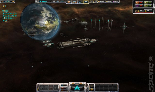 Sins of a Solar Empire: Rebellion: New Frontiers Edition - PC Screen