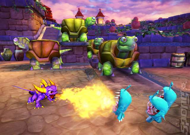Skylanders Spyro?s Adventure - Xbox 360 Screen