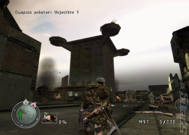 Sniper Elite - Wii Screen