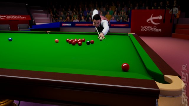 Snooker 19: The Official Video Game - Switch Screen