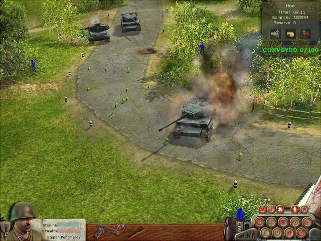 Soldiers: Heroes of World War II - PC Screen