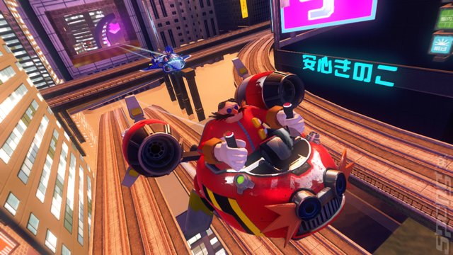 Sonic & All-Stars Racing Transformed - PSVita Screen