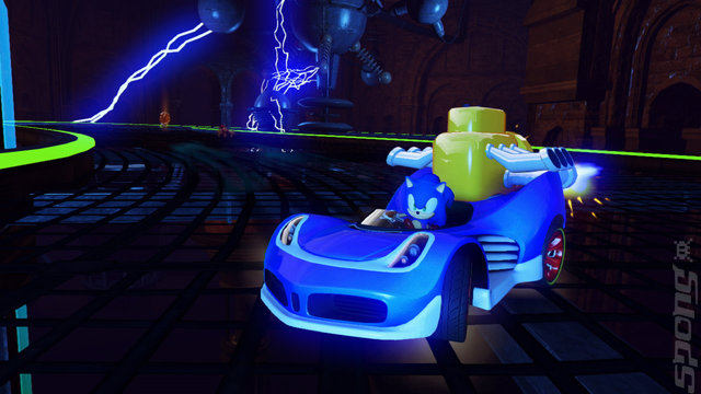 Sonic & All-Stars Racing Transformed - Xbox 360 Screen