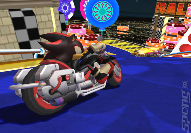 Sonic & SEGA All-Stars Racing - Wii Screen