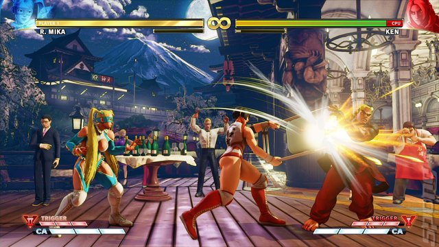 Street Fighter V: Arcade Edition - PS4 Screen