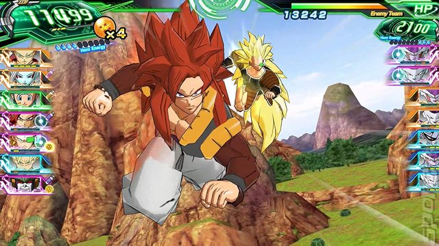Super Dragon Ball Heroes: World Mission - Switch Screen