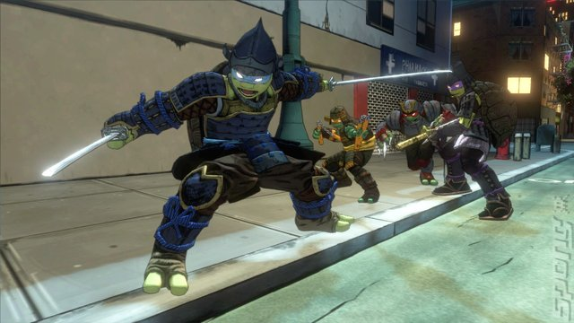 Teenage Mutant Ninja Turtles: Mutants in Manhattan - PS3 Screen