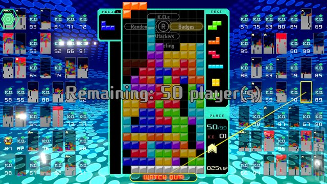 Tetris 99 - Switch Screen