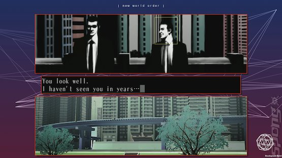 The 25th Ward: The Silver Case - PS4 Screen