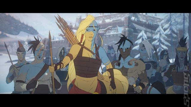 The Banner Saga Trilogy - Xbox One Screen
