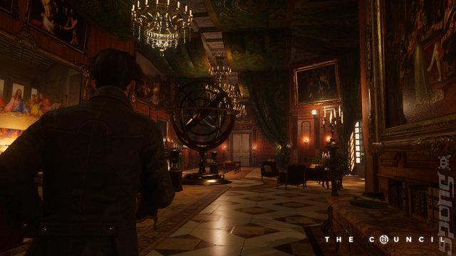 The Council Episode 1 Editorial image