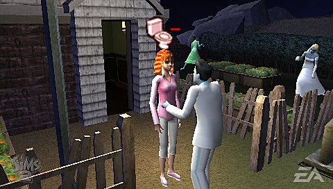 The Sims 2 - PSP Screen
