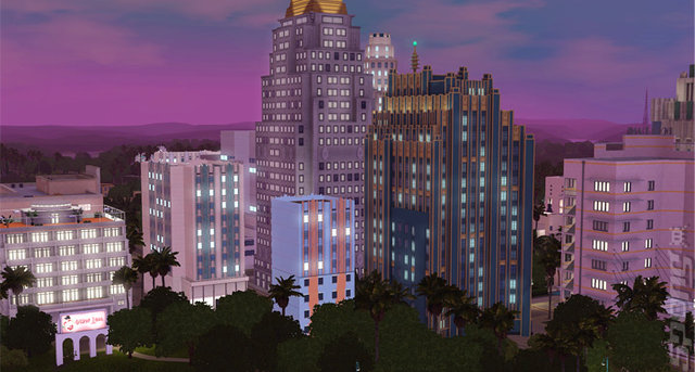 The Sims 3: Roaring Heights - PC Screen