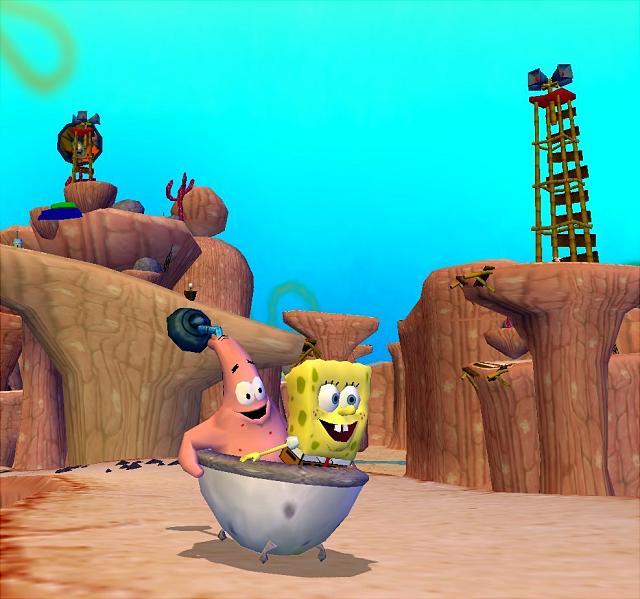Spongebob Squarepants Battle For Bikini Bottom Xbox Walkthrough