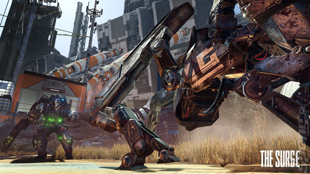 The Surge Editorial image