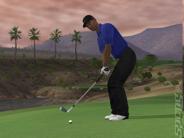 Tiger Woods PGA Tour 07 - PS2 Screen