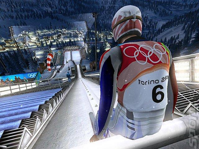 Torino 2006 Winter Olympics - PC Screen