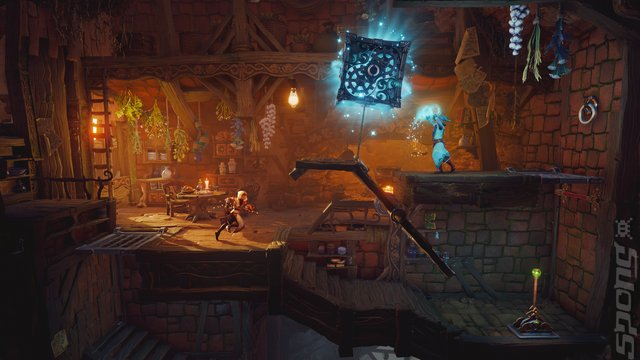 Trine Ultimate Collection - PS4 Screen