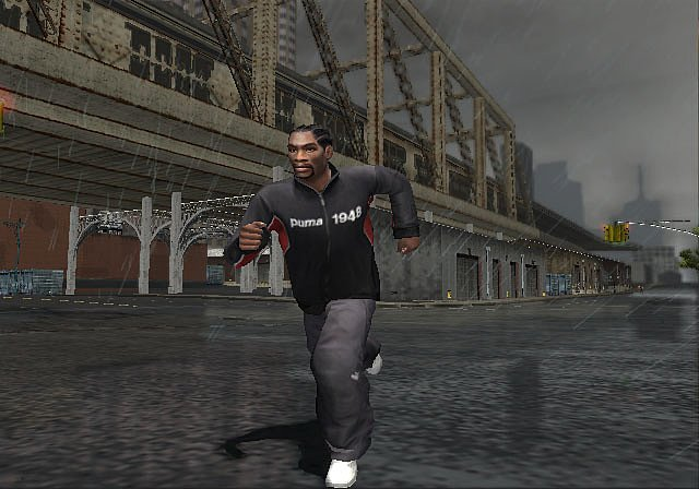 True crime new york city ps2 screen