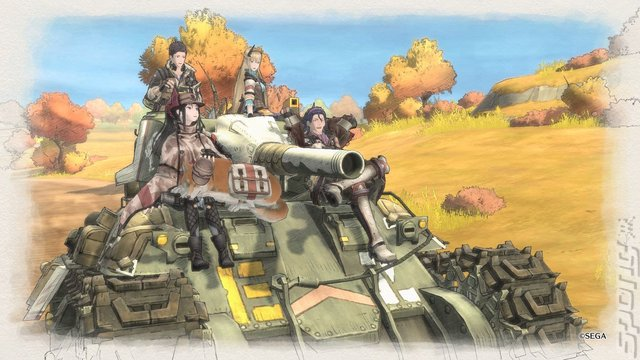 Valkyria Chronicles 4 Editorial image