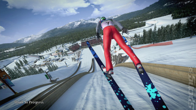 Vancouver 2010: The Official Video Game of the Olympic Winter Games - PC Screen