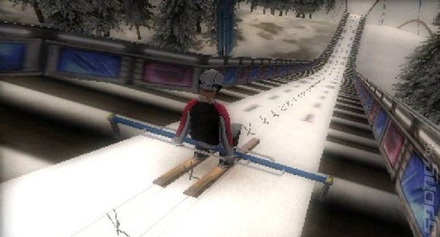 Winter Sports 2012: Feel the Spirit - 3DS/2DS Screen
