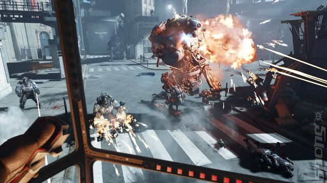 Wolfenstein: Cyberpilot - PS4 Screen