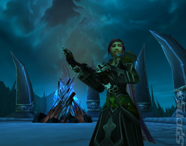 World Of Warcraft: Wrath Of The Lich King - PC Screen