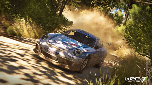 WRC 7: The Official Game - PS4 Screen