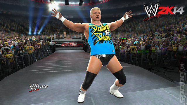 WWE 2K14 - PS3 Screen