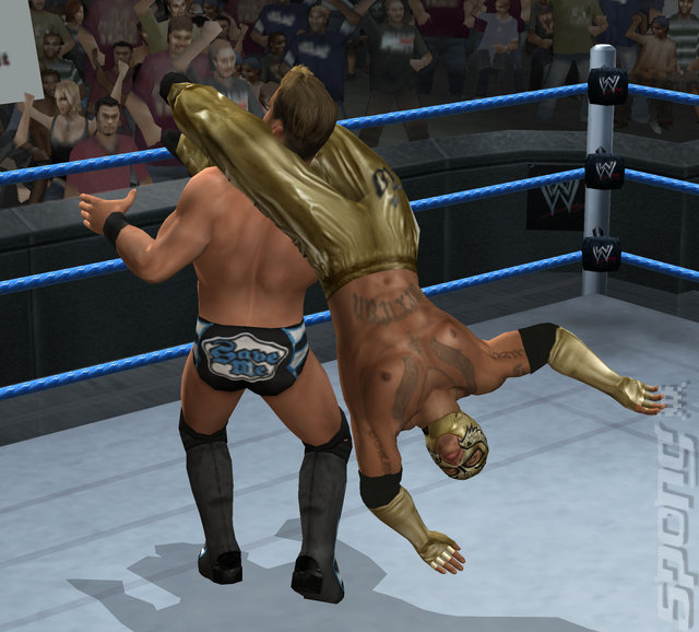 WWE SmackDown vs RAW 2010 - Wii Screen