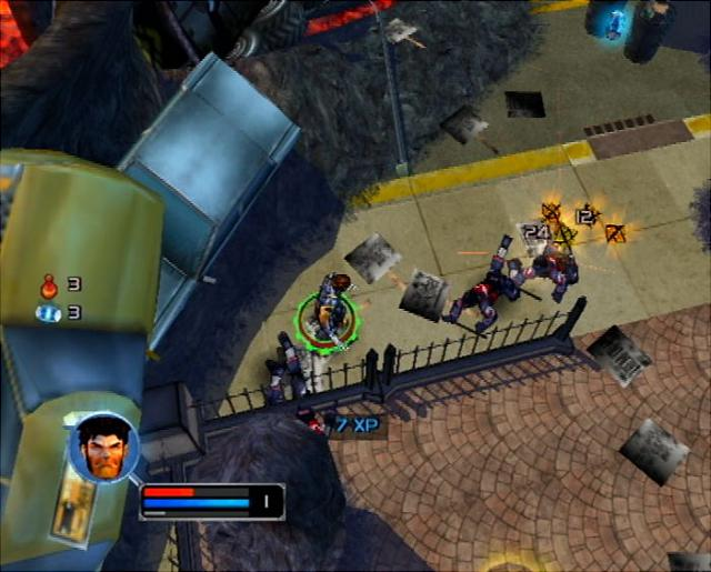 X-Men Legends - PS2 Screen