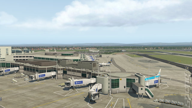 X Plane 11 + Aerosoft Airport Pack - PC Screen