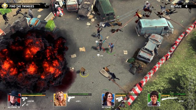 Zombieland: Double Tap: Road Trip - PS4 Screen
