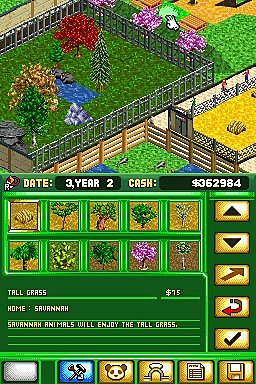 Screens: Zoo Tycoon DS - DS/DSi (3 of 3)