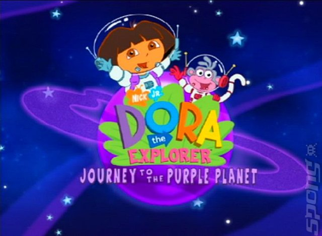 Dora the Explorer: Journey to the Purple Planet - PS2 Screen